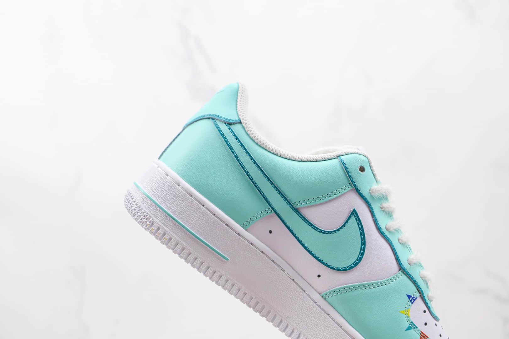 耐克Nike Air Force 1 Low 07纯原版本低帮空军一号蒂芙尼绿气球涂鸦板鞋内置气垫 货号:CW2288-111
