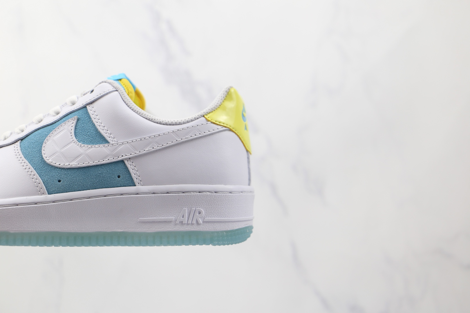 耐克Nike Air Force 1 Low '07 LAGOON PULSE纯原版本低帮空军一号汤达人联名款白蓝色板鞋内置气垫 货号:AA7687-400