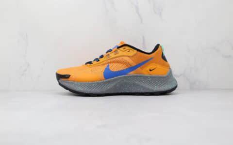 耐克NIKE PEGASUS TRAIL 3纯原版本橙蓝色飞马越野跑鞋原楦头纸板打造 货号:DA8697-800