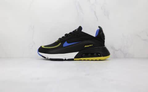 耐克Nike Air Max 2090纯原版本黑蓝色Max2090气垫鞋原楦头纸板打造 货号:DH7708-005