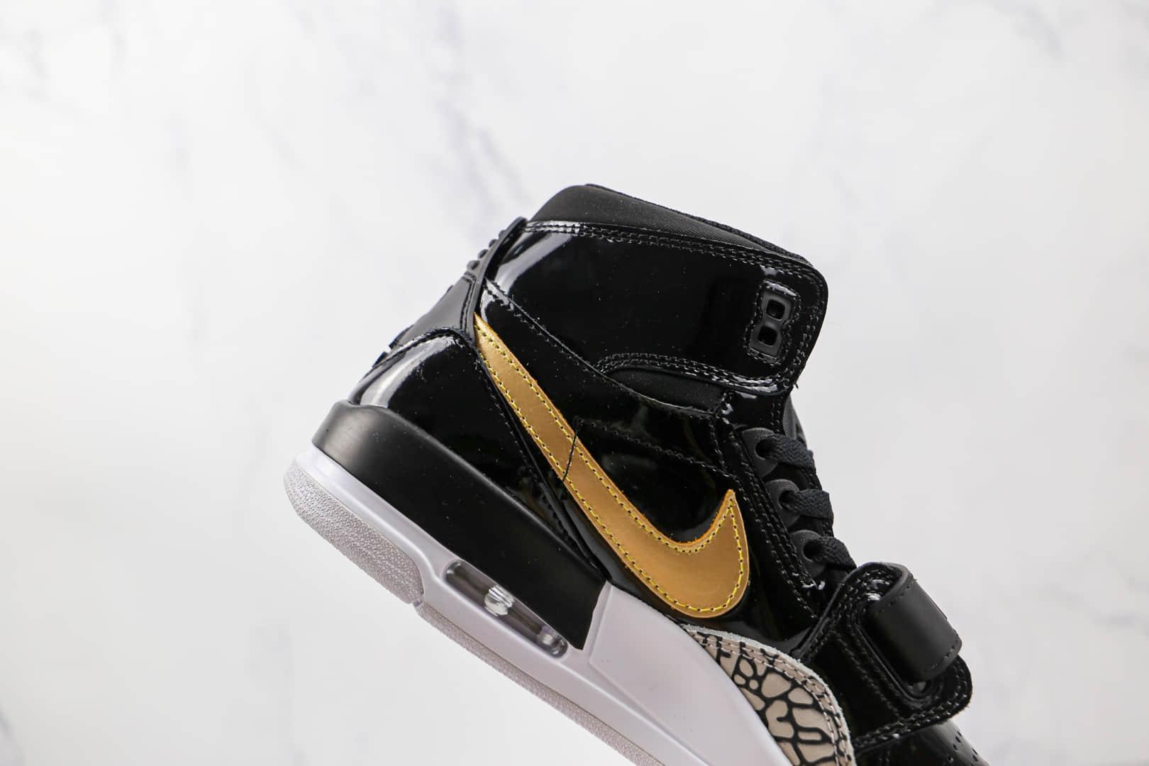 乔丹Air Jordan Legacy 312纯原版本高帮AJ312黑金色篮球鞋原楦头纸板打造 货号:AV3922-007