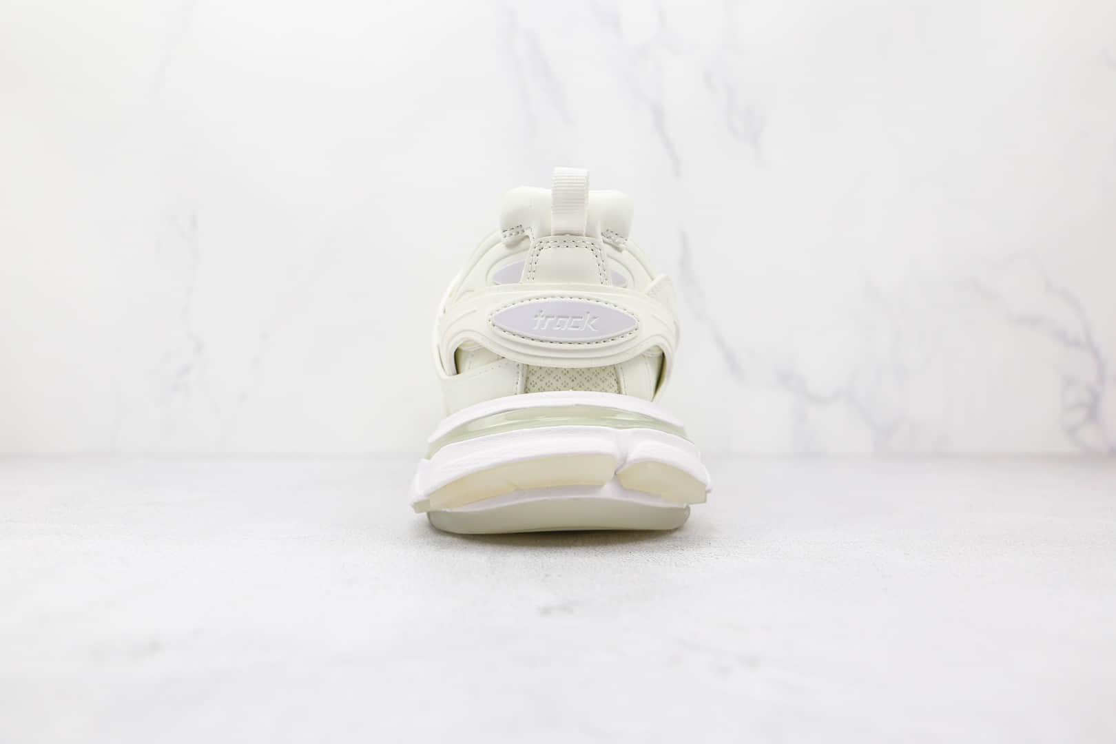 巴黎世家Balenciaga Triple S纯原版本夜光三代白色复古老爹鞋原盒原标原档案数据开发