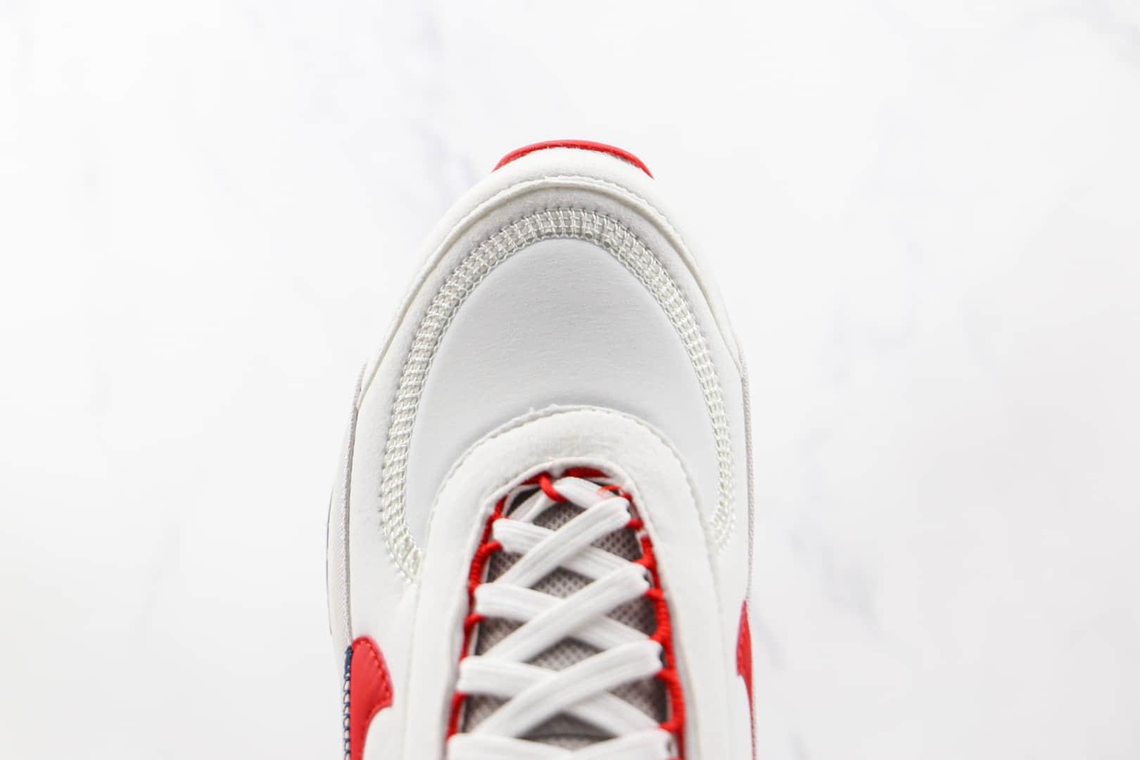耐克Nike Air Max 2090纯原版本白红色Max2090气垫鞋原楦头纸板打造 货号:DH7708-100
