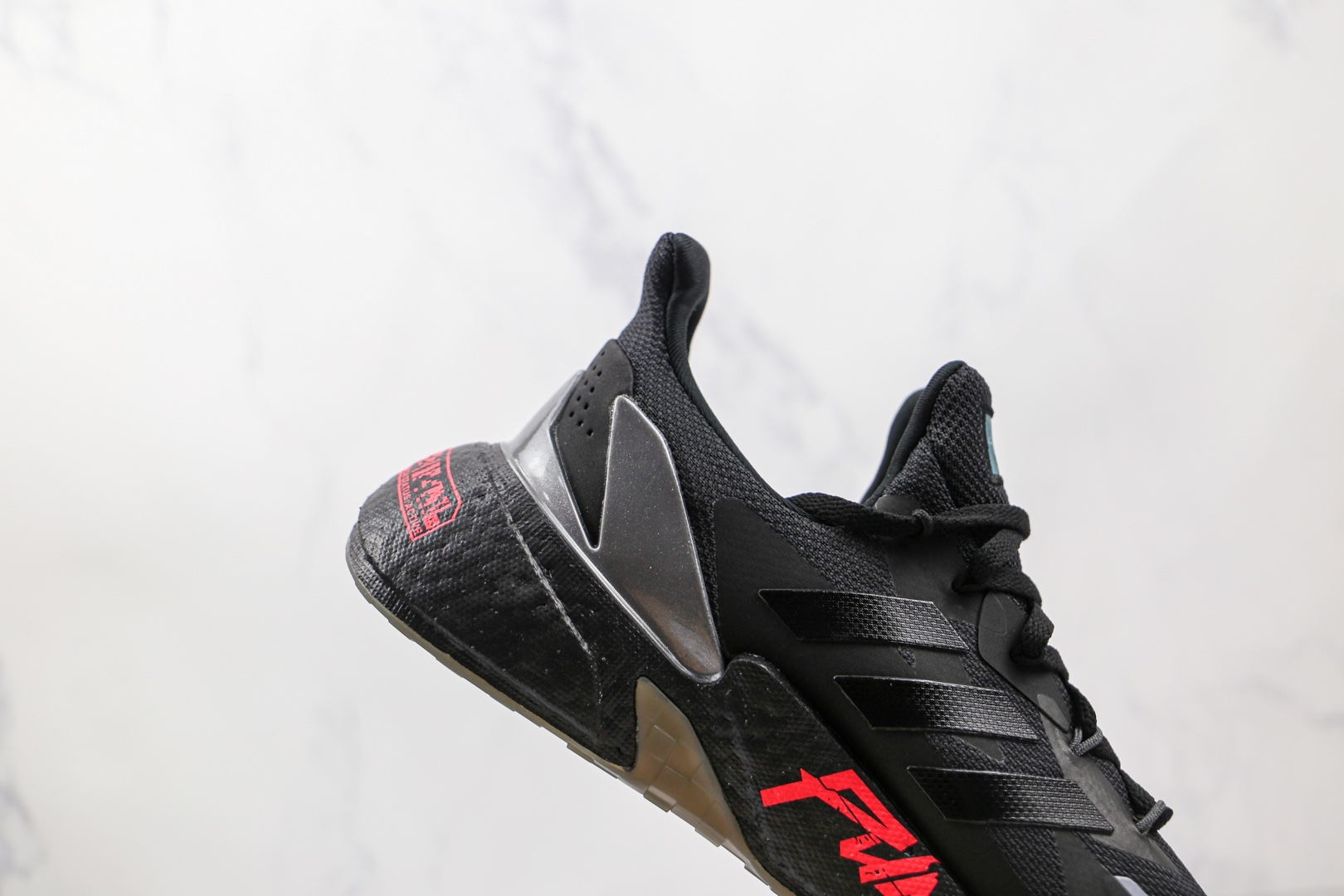 阿迪达斯adidas Boost X9000L4纯原版本黑色红字爆米花跑鞋原楦头纸板打造 货号:FZ3091