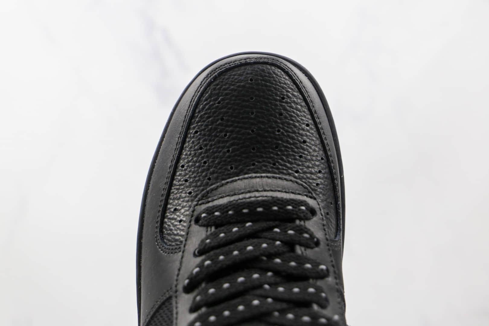 耐克Nike Air Force 1 Low纯原版本空军一号低帮AF1黑红3M反光原标原盒 货号:DO6389-001