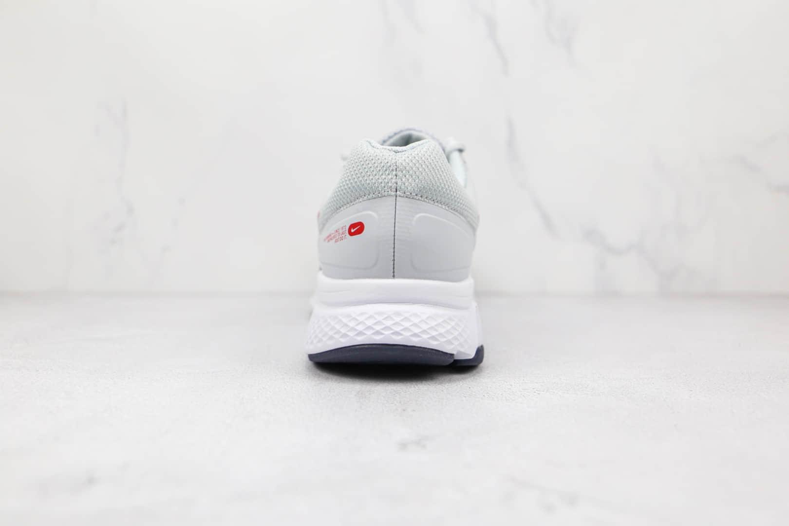 耐克Nike Run Swift 2纯原版本极致S2灰黑红色慢跑鞋原档案数据开发 货号:CU3517-006