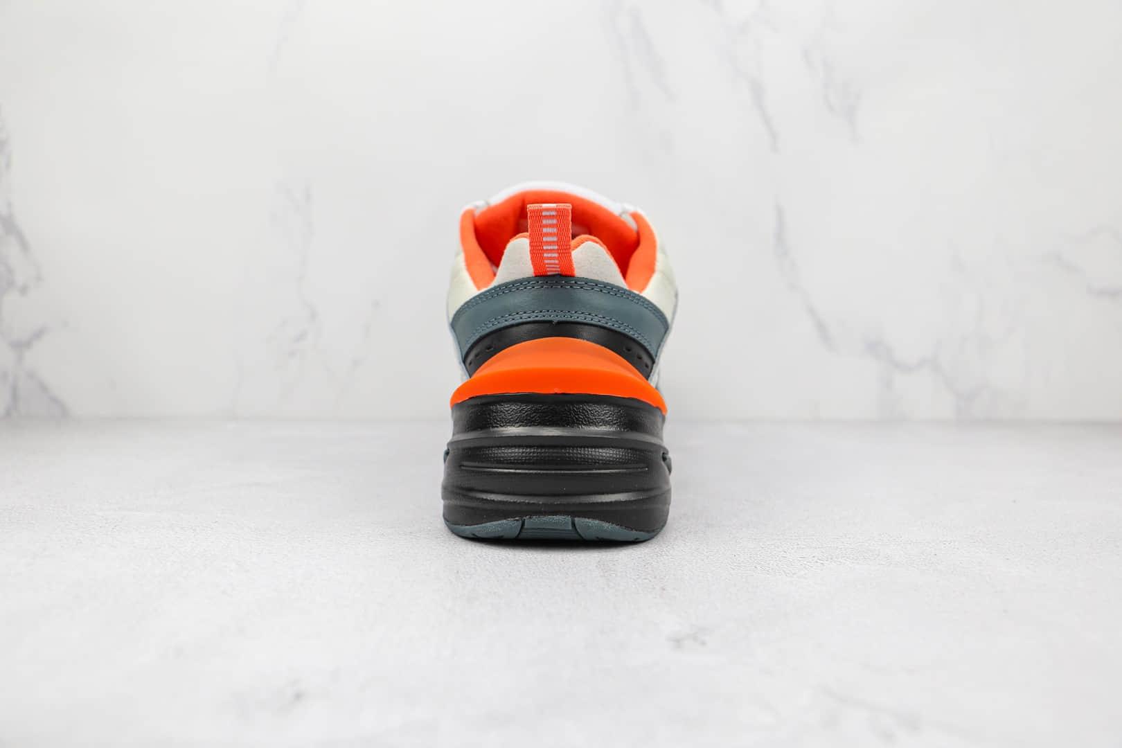 耐克Nike Air Monarch M2K纯原版本灰黑橙色复古M2K老爹鞋原档案数据开发 货号:CI2969-001