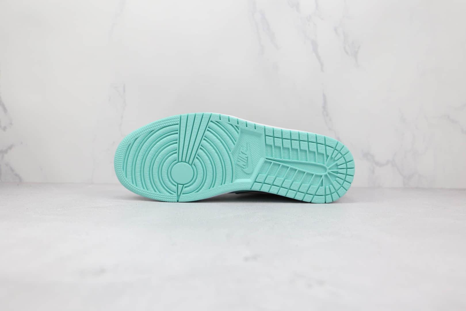 乔丹Air Jordan 1 Low SE Tropical Twist纯原版本低帮AJ1黑蒂芙尼绿渐变色钩板鞋原楦头纸板打造 货号:CK3022-301