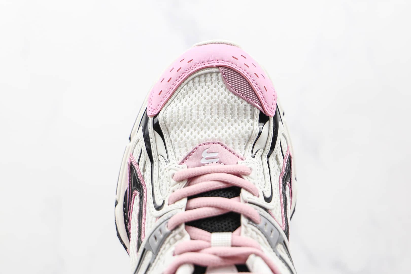 巴黎世家Balenciaga X-Pander纯原版本白粉色复古增高做旧弹簧老爹鞋原盒原标原楦头纸板打造