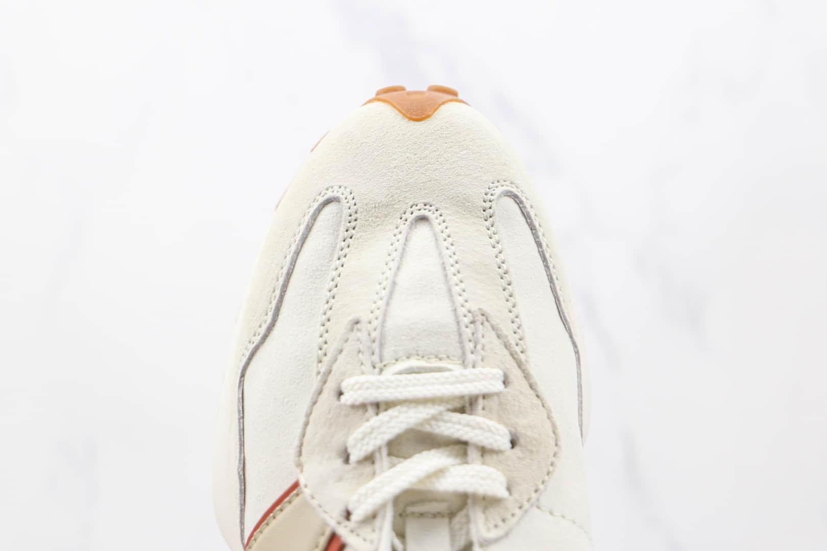 新百伦New Balance 327纯原版本皮面米白褐色NB327老爹鞋原楦头纸板打造 货号:WS327SA
