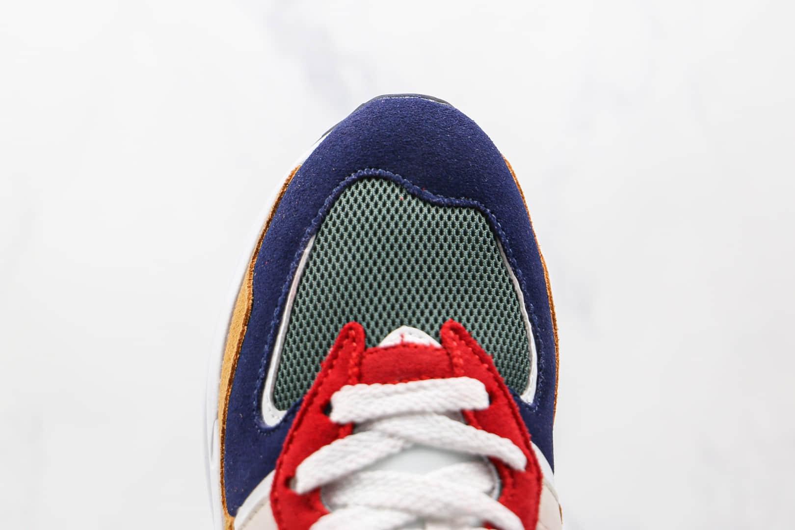 新百伦New Balance 5740纯原版本网面彩色拼接墨绿红黄色复古老爹鞋原盒原标 货号:M5740GD