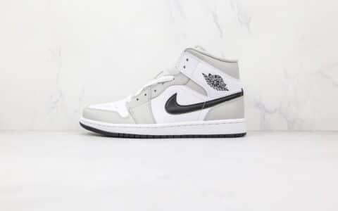 纯原版本乔丹中帮AJ1新款烟灰色篮球鞋出货