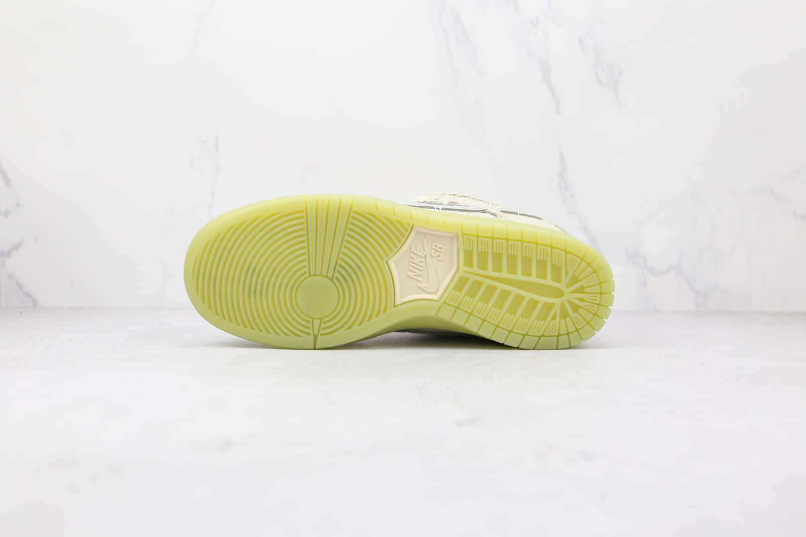 耐克Nike SB Dunk Low Mummy纯原版本低帮SB DUNK米白夜光木乃伊布面板鞋原档案数据开发 货号:DM0774-111