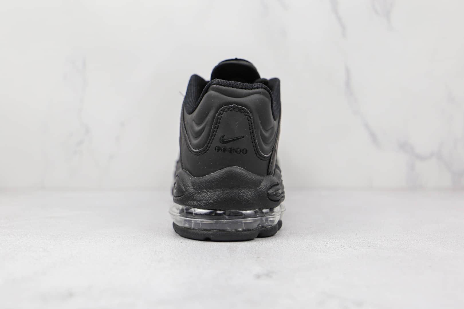 耐克Nike Air Tunched Max Dark Charcoal纯原版本黑色Max复古气垫跑鞋原楦头纸板打造 货号:CV6984-004