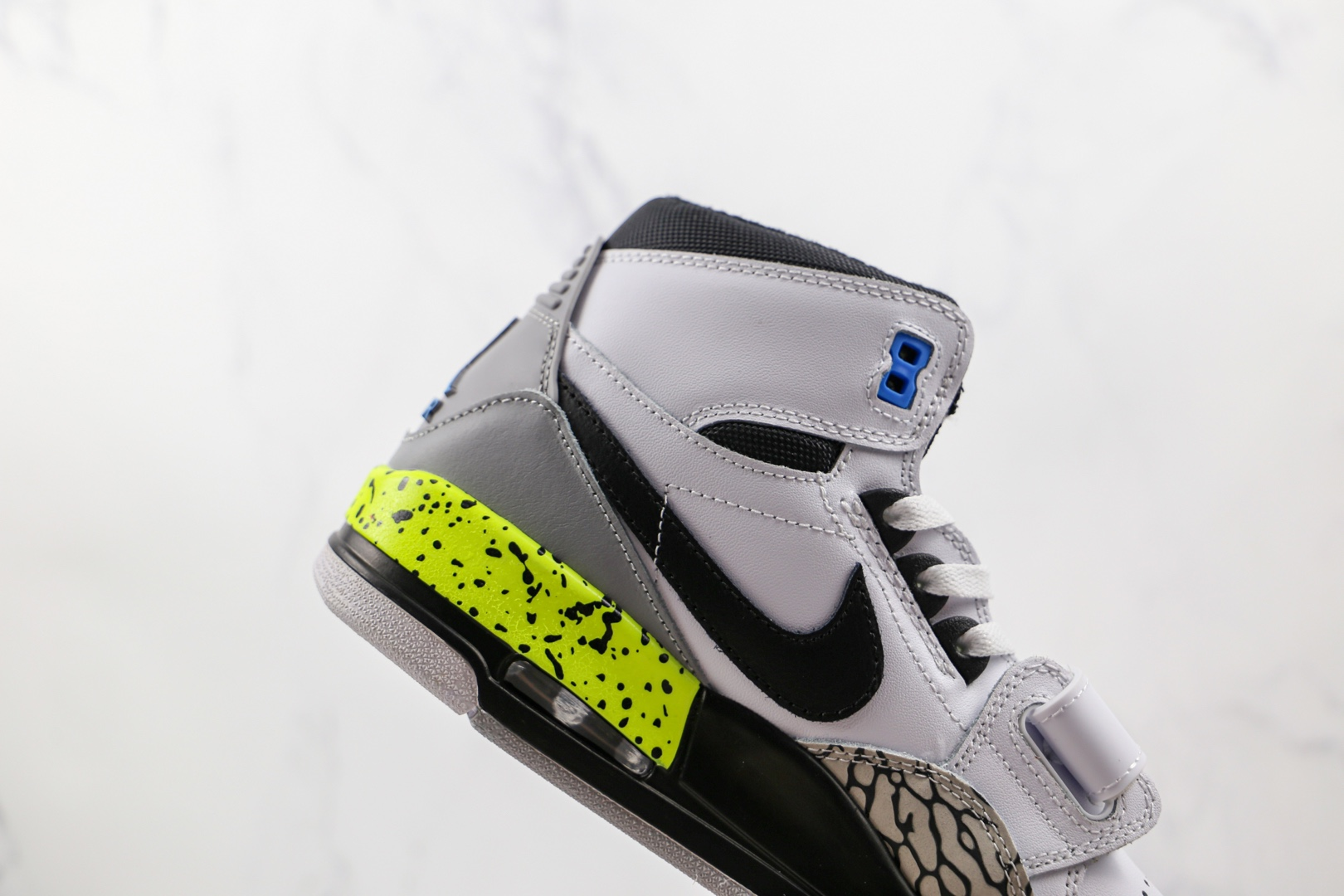 乔丹Air Jordan Legacy 312纯原版本高帮AJ312白黑绿色板鞋原盒原标 货号:AQ4160-107