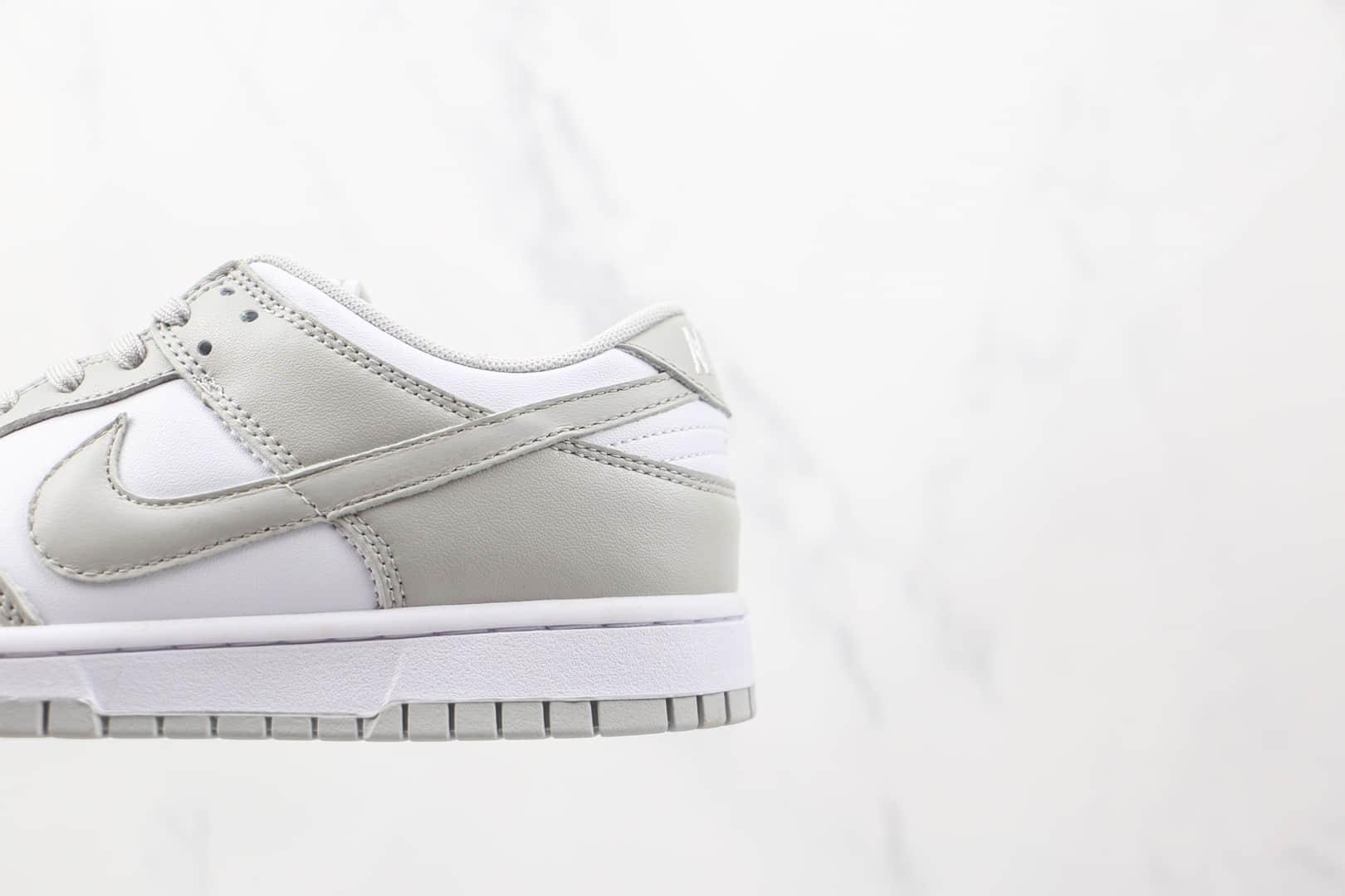 耐克Nike Dunk Low纯原版本低帮DUNK白灰色板鞋原楦头纸板打造 货号:DD1391-103