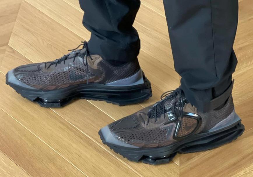 硬朗机能感十足!全新Nike Zoom MMW 4实物曝光!年底登场!