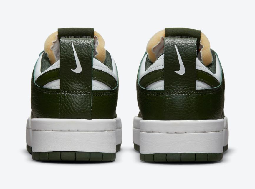 复古白绿装扮!全新Nike Dunk Low Disrupt即将登场! 货号:DQ0869-100