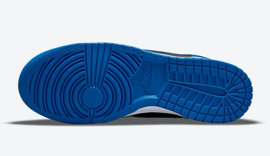 经典黑蓝装扮+迷彩暗纹!这双高帮Dunk细节真不少! 货号:DD3359-001