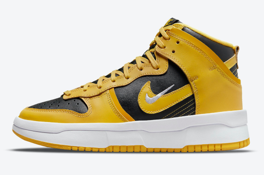经典黑黄配色!全新Nike Dunk High Rebel首度曝光! 货号:DH3718-001