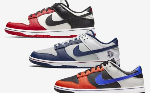 三双NBA x Nike 75周年纪念款官图释出!下月登场!
