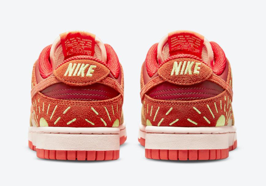 """落日刺绣点缀!全新Nike Dunk""""冬至""""首度曝光! 货号:DO6723-800"""