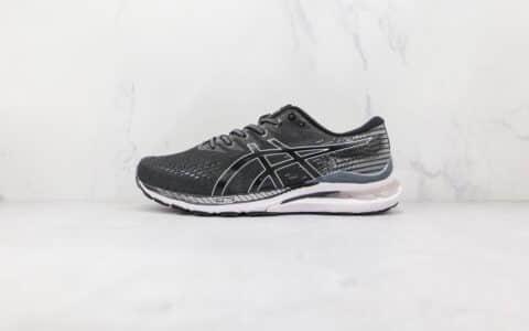 亚瑟士ASICS GEL-KAYANO 28纯原版本灰黑色K28缓震跑步鞋原档案数据开发 货号:1012B048-003