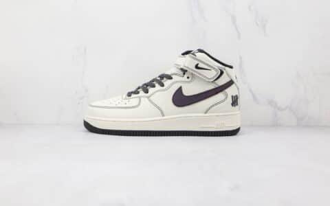耐克Nike Air Force 1 mid纯原版本中帮空军一号五道杠夜魔侠联名款板鞋原档案数据开发 货号:CK6690-100