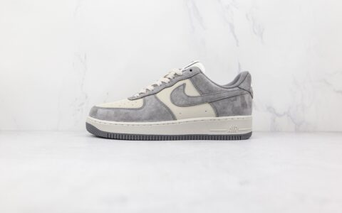 耐克Nike Air Force 1'07 Low Black carbon纯原版本低帮空军一号麂皮黑碳灰色板鞋内置气垫 货号:CW2288-866