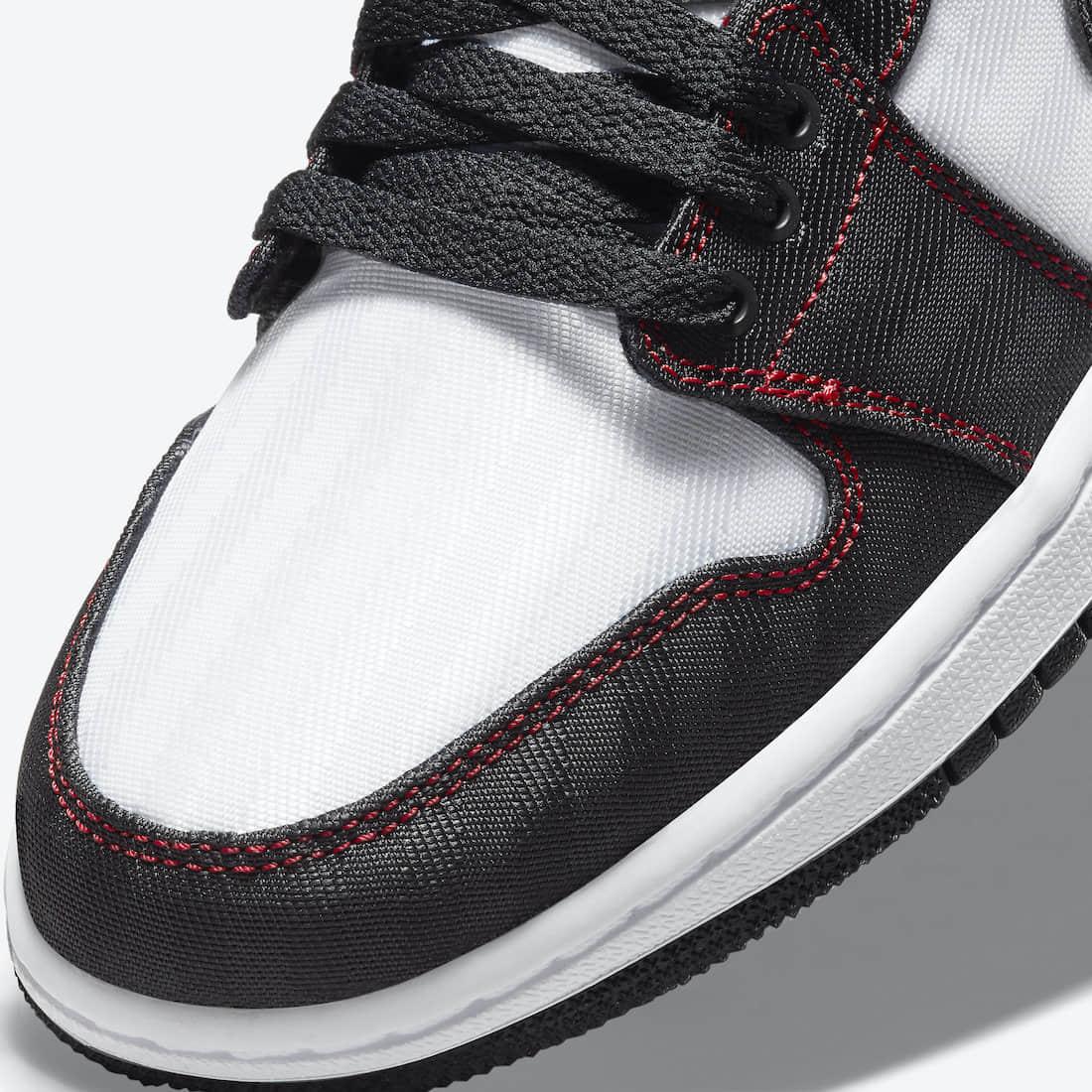 缝线设计+暗纹细节!这双低帮AJ1挺有料! 货号:DD9337-106