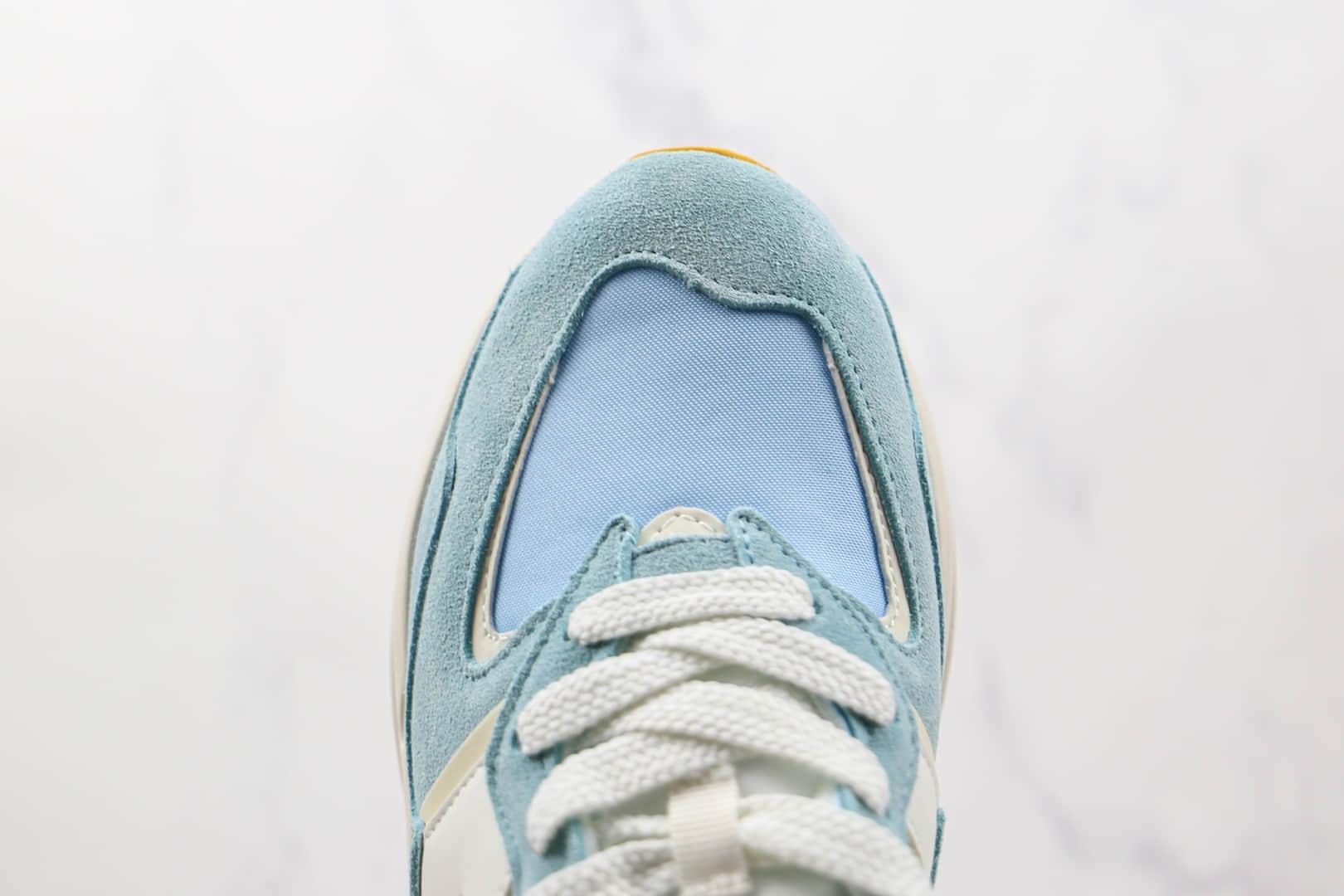 新百伦New Balance 5740纯原版本网面米蓝黄彩色拼接复古老爹鞋原鞋开模一比一打造 货号:W5740PG1