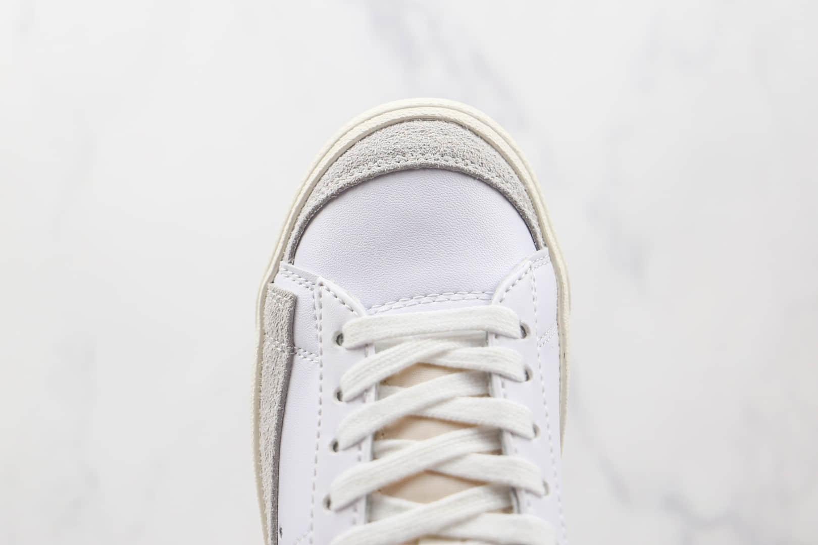 耐克NIKE Blazer LOW 77 VNTG纯原版本低帮开拓者白蓝色板鞋原楦头纸板打造 货号:DA6364-103