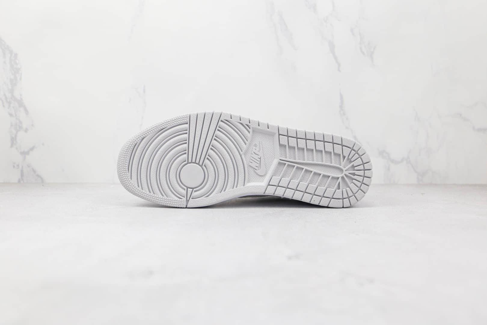 乔丹Air Jordan 1 Low OG 85 Neutral Grey纯原版本低帮AJ1白灰色板鞋原盒原标 货号:CZ0775-100
