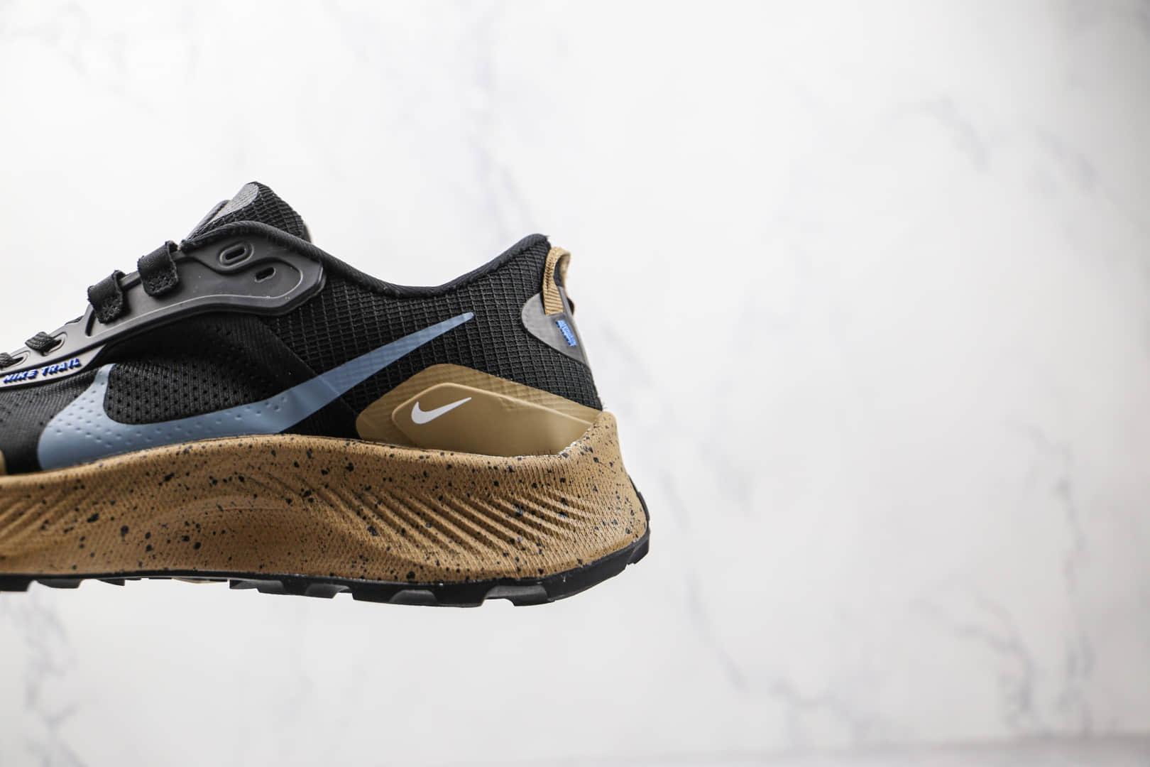 耐克NIKE PEGASUS TRAIL 3纯原版本飞马3代黑蓝色越野跑鞋原楦头纸板打造 货号:DM6161-010