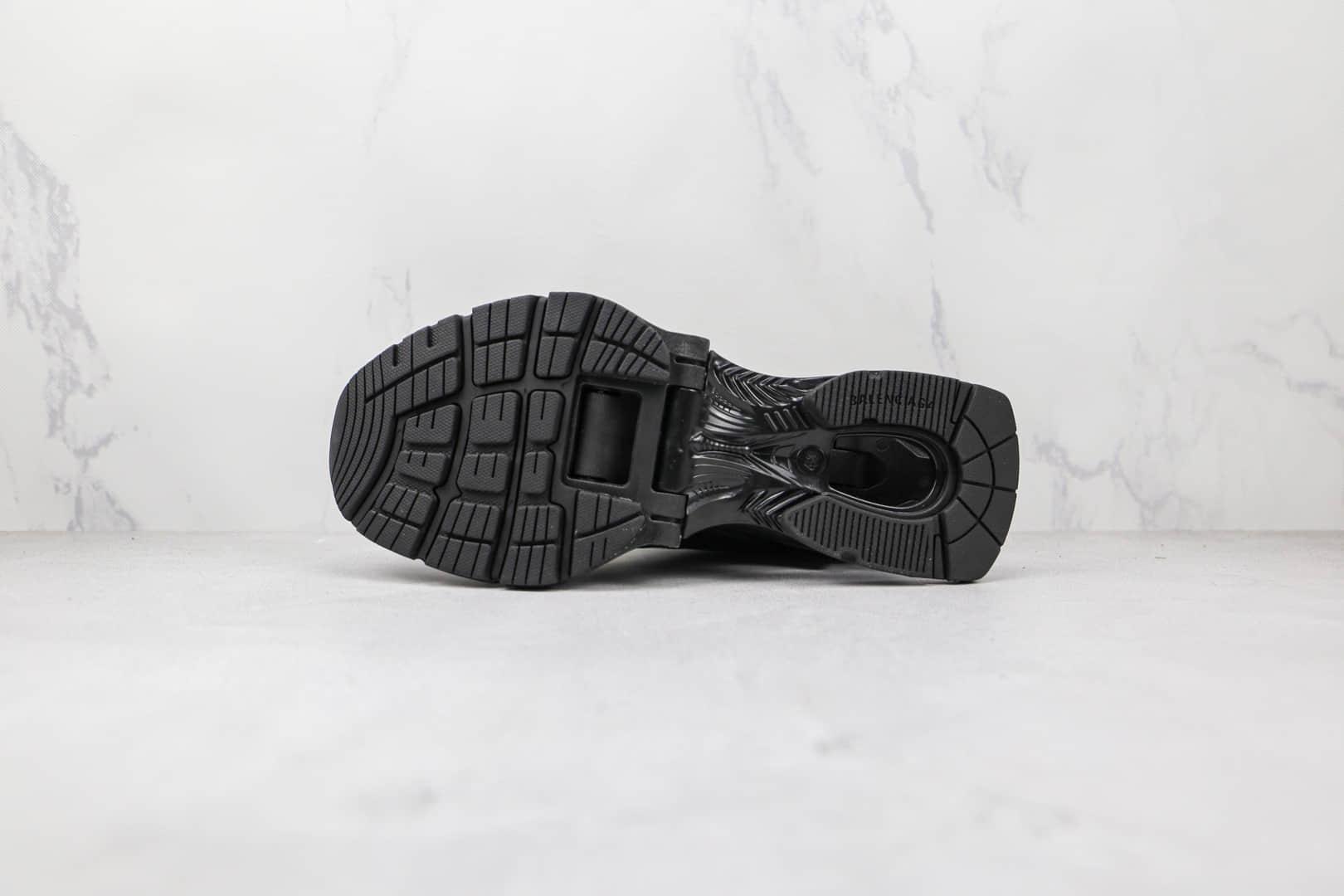 巴黎世家Balenciaga X-Pander纯原版本黑色弹簧鞋增高复古做旧老爹鞋原盒原标原楦头纸板打造