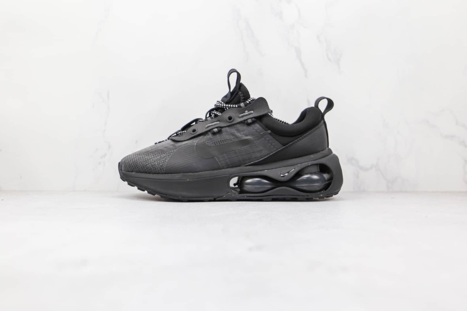 耐克Nike Air Max 2021纯原版本半掌气垫Max2021黑色气垫鞋原楦头纸板打造 货号:DH4245-002
