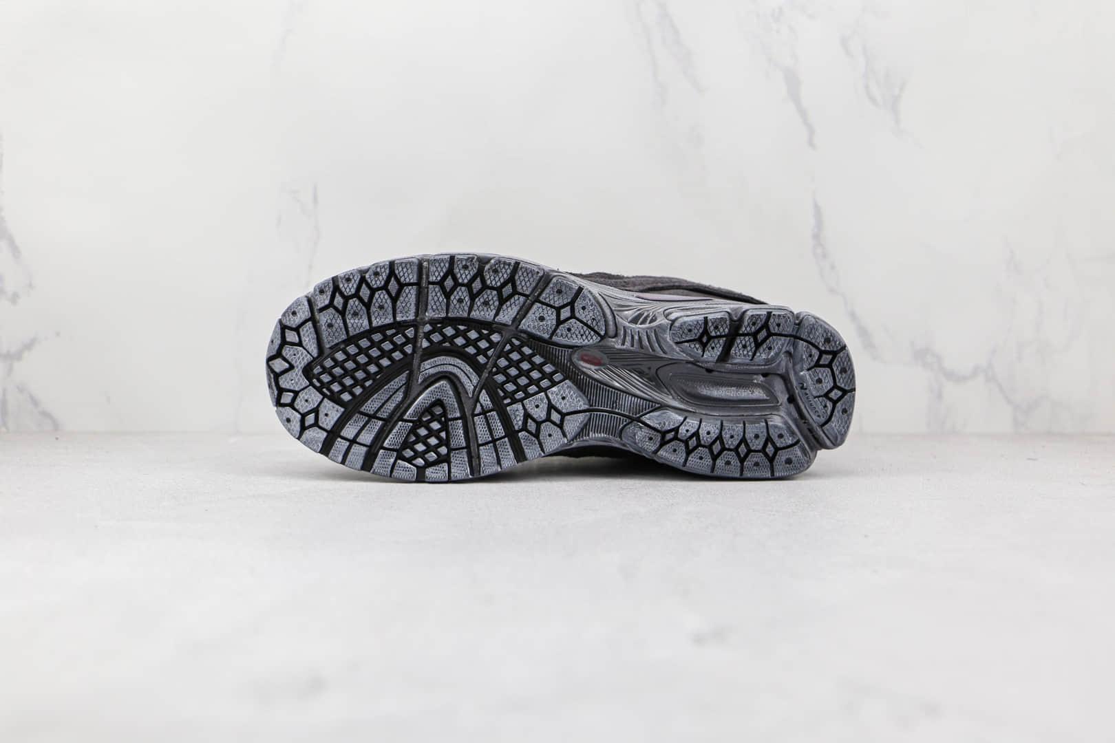 新百伦New Balance 2002R Protection Pack纯原版本幻影黑色不规则剪裁NB2002R解构复古老爹鞋原档案数据开发 货号:M2002RDB