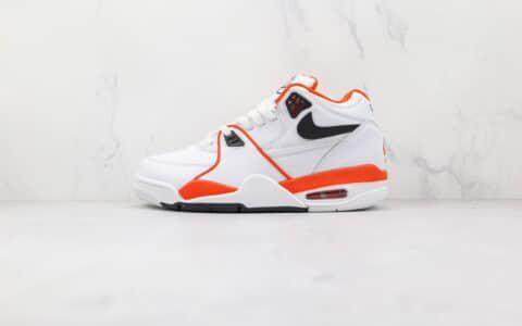 耐克Nike Air Flight 89纯原版本星际篮球鞋主题白橙色复古篮球鞋原盒原标 货号:CZ6097-100