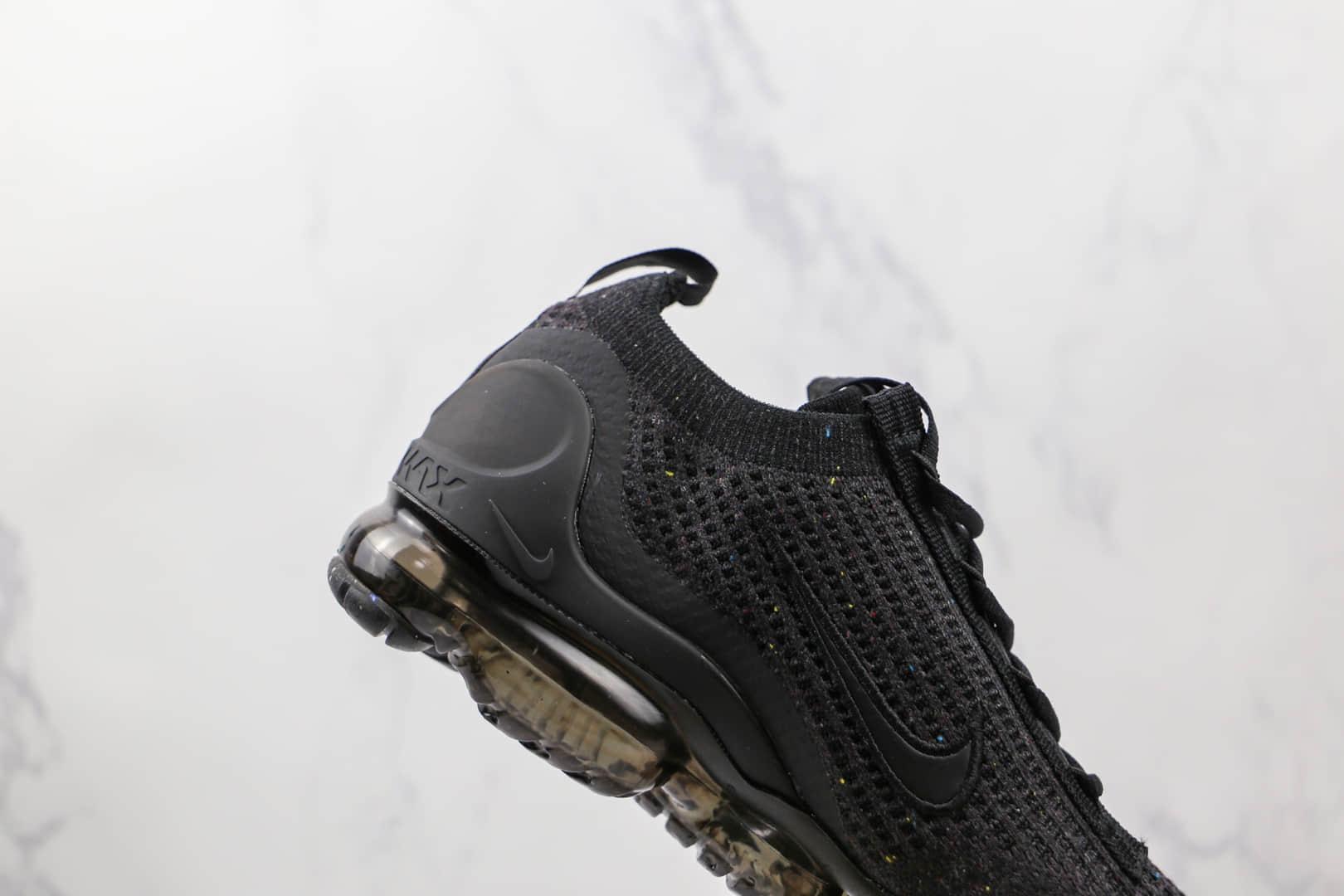 耐克Nike Air VaporMax 2021 FK纯原版本黑色编织蒸汽全掌气垫鞋原盒原标 货号:DH4084-001