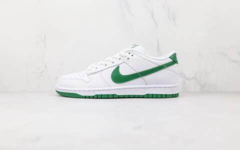 耐克Nike SB Dunk Low纯原版本低帮SB DUNK白绿色板鞋内置气垫原盒原标 货号:DD1503-112