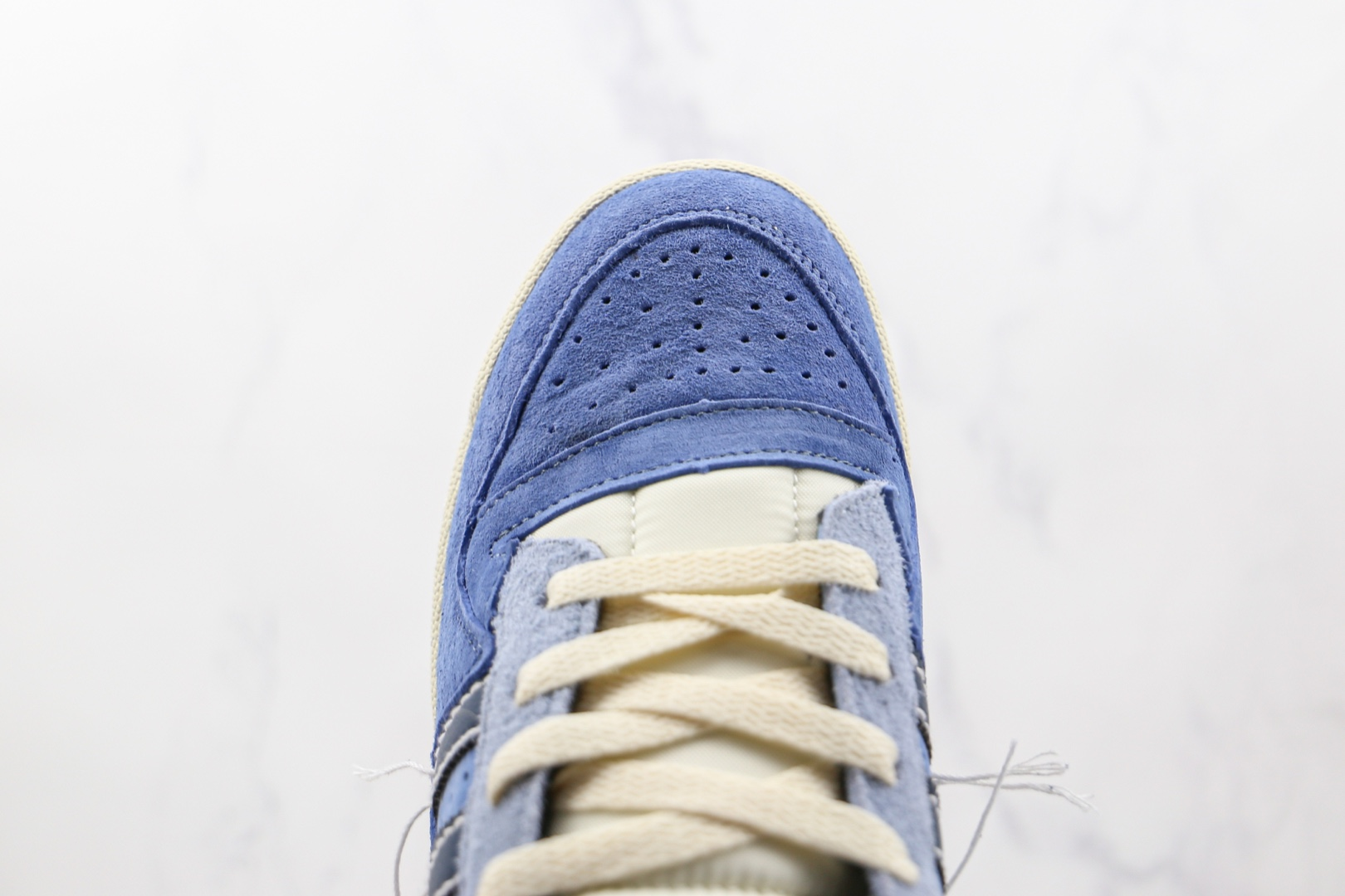 阿迪达斯Adidas Forum 84 Low纯原版本低帮牛仔线头复古板鞋原档案数据开发 货号:GW0298