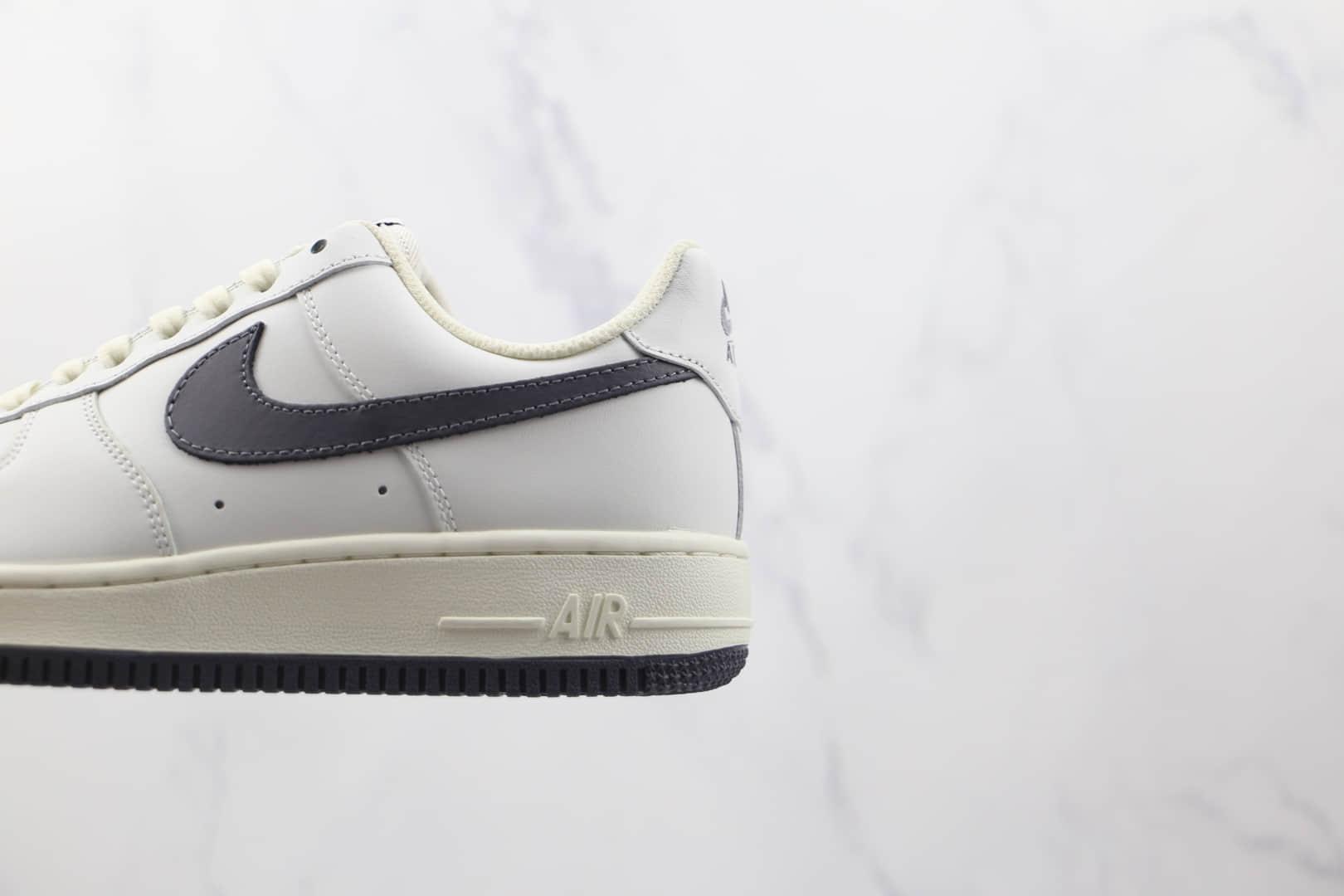 耐克Nike Air Force 1 Low 07纯原版本低帮空军一号奶咖灰色炫彩勾板鞋原楦头纸板打造 货号:DA0099-109