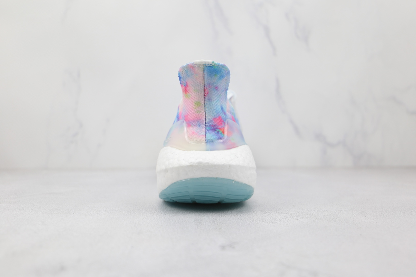 阿迪达斯adidas ultra boost 2021纯原版本白蓝粉水洗扎染UB7.0爆米花跑鞋原盒原标 货号:GZ7104
