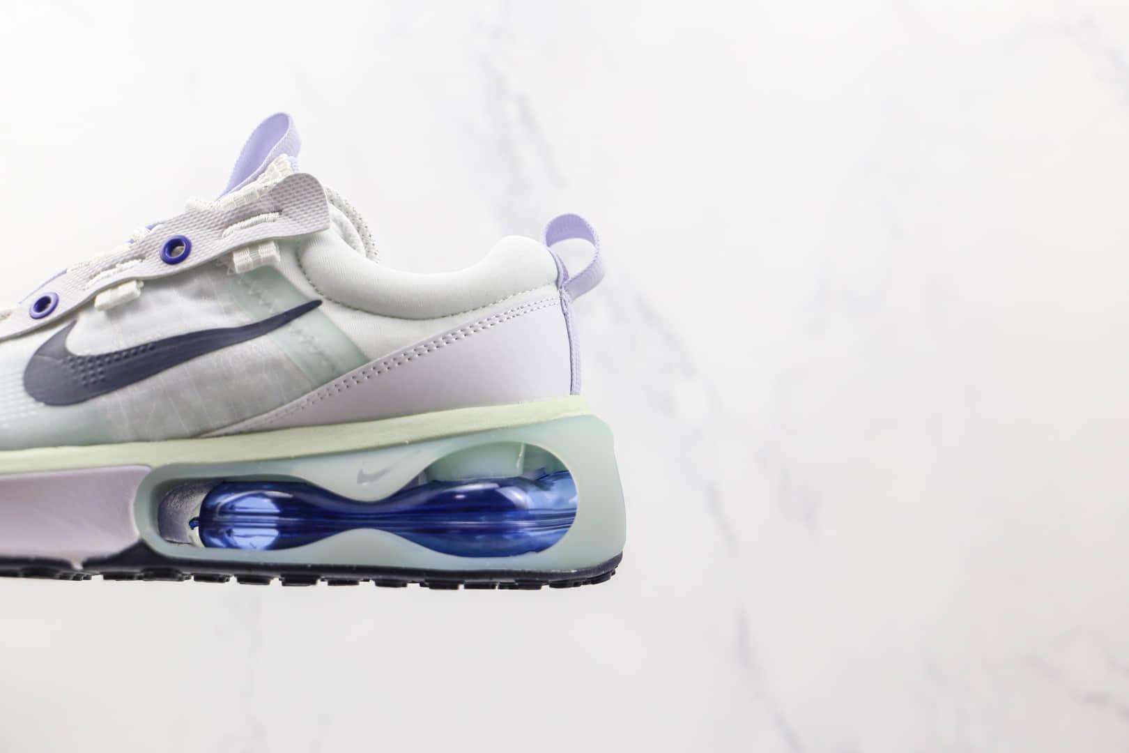 耐克Nike Air Max 2021纯原版本白蓝色Max2021半掌气垫鞋原档案数据开发 货号:DA1923-100