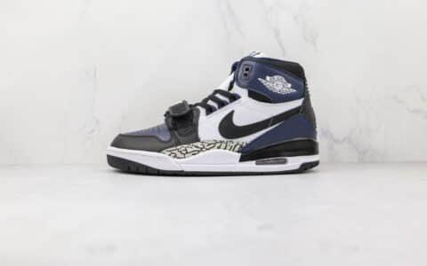乔丹Air Jordan Legacy 312纯原版本高帮AJ312黑曜石篮球鞋原盒原标 货号:DO7441-401