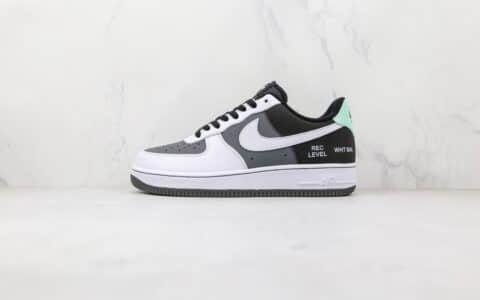 耐克Nike Air Force 1 Low Camcorder纯原版本低帮空军一号摄像机白灰黑色印字板鞋原盒原标 货号:DG5060-755