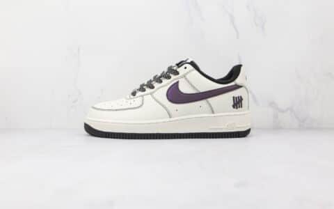 耐克Nike Air Force 1' 07纯原版本低帮空军一号五道杠联名款白黑色板鞋内置气垫 货号:UN2588-121