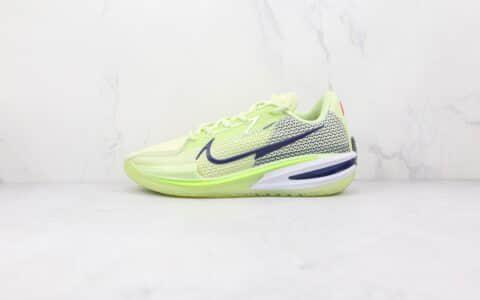 耐克Nike Zoom GT Cut纯原版本黑绿色GT实战篮球鞋原鞋开模一比一打造 货号:CZ0176-300