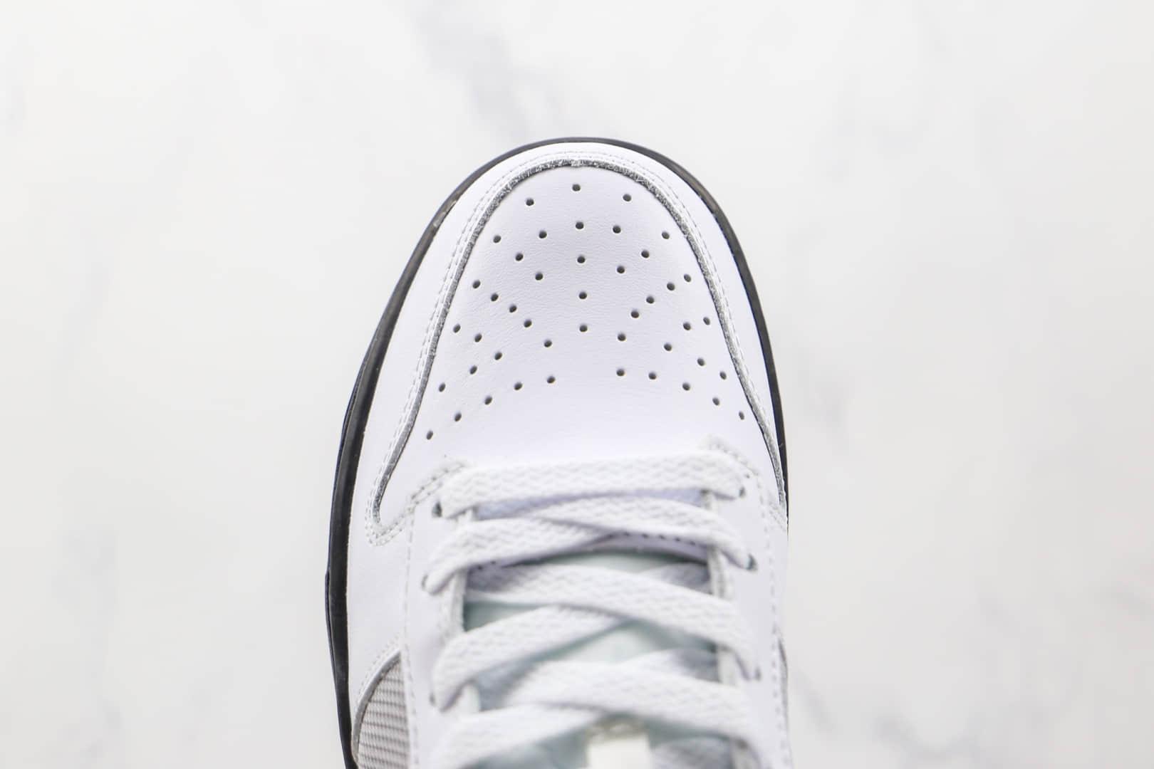 耐克Nike Dunk SB Low Pro纯原版本低帮SB DUNK元年白灰板鞋原鞋开模一比一打造 货号:317813-101
