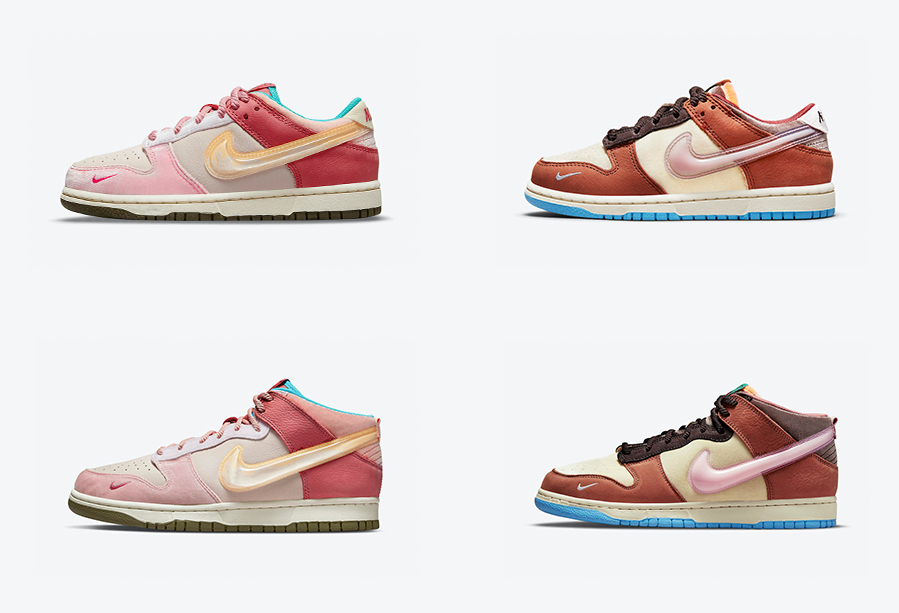 草莓or巧克力?Social Status x Nike Dunk联名也太好看了!
